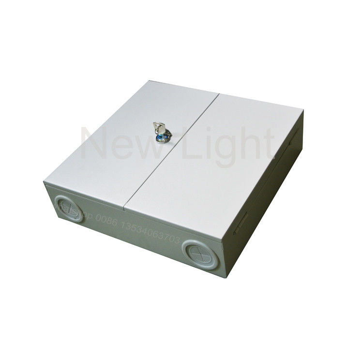 12 / 24 Fiber Indoor Optical Fiber Distribution Box , Wall Mounted Fiber Distribution Panel